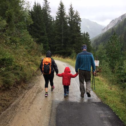 Foire aux questions de randonnée avec enfant