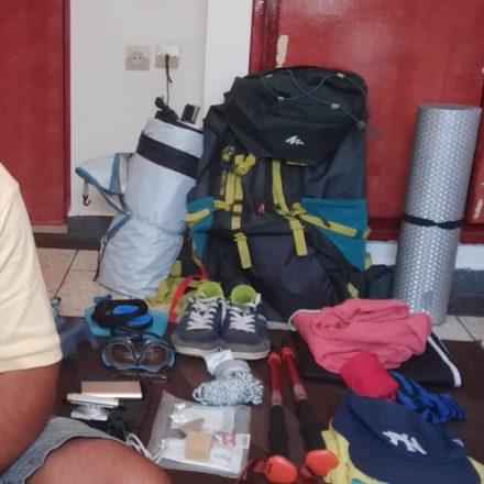 Rando 2k18 (Ep1): La liste de matériel pour ma randonnée de plusieurs jours